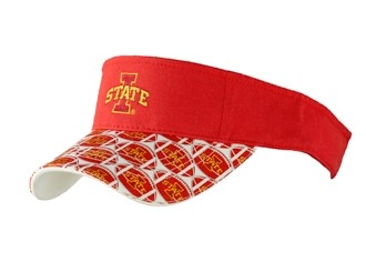 Iowa State Sun Visor-Red