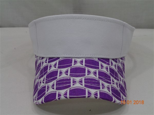 Sun Visor- Collegiate Purple 268
