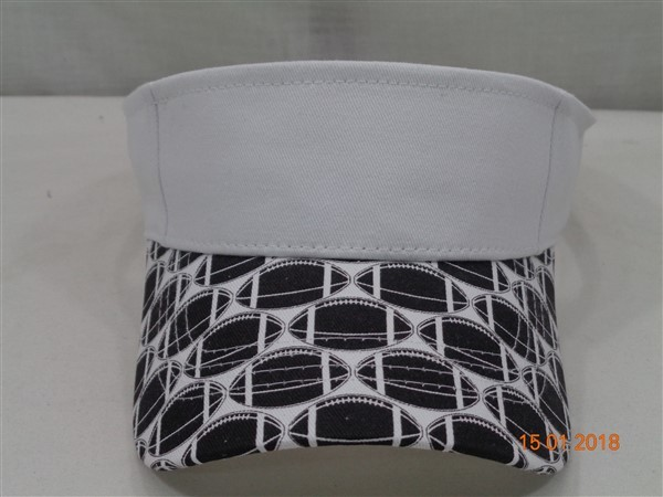 Sun Visor- Collegiate Black