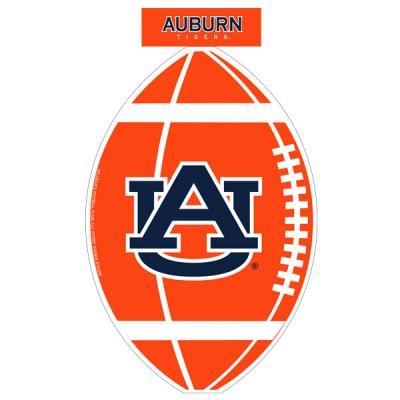 Auburn University Football Shaped Garden Flag