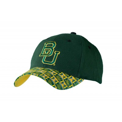 Baylor University Men's Adjustable Baseball Cap-Green
