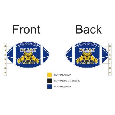 North Carolina A&T State University Car Flag