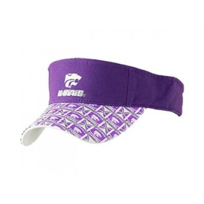 Kansas State University Sun Visor-Purple