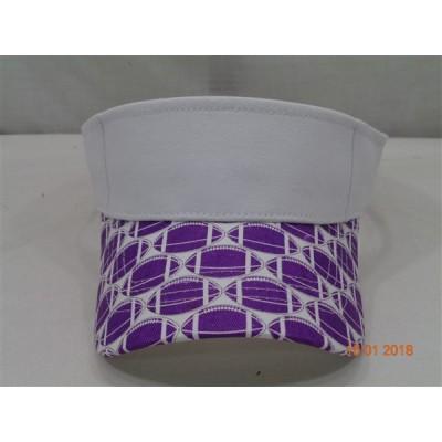 Sun Visor- Collegiate Purple 268